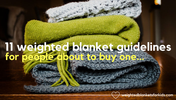 11 Weighted Blanket Guidelines For People About To Buy One