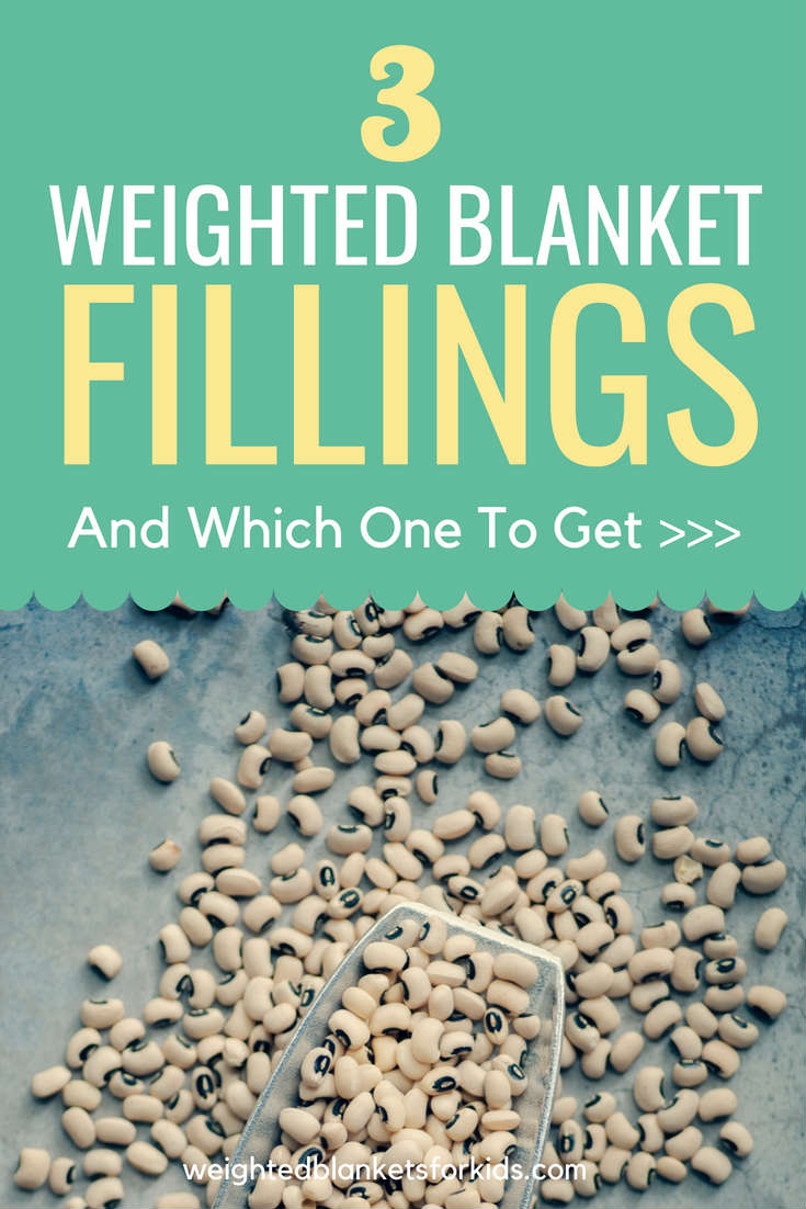 Curious about the fillings in weighted blanket? From plastic poly pellet fillings to micro glass beads, here's what you need to know...